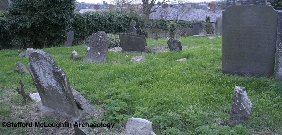The graveyard of St. Michael's of Feigh