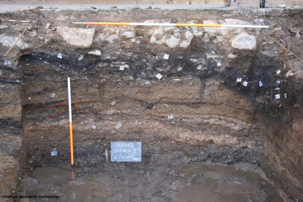Section-showing-excavated-depsoits-at-84-86-South-Main-Street
